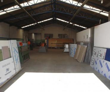 Área de produção da empresa