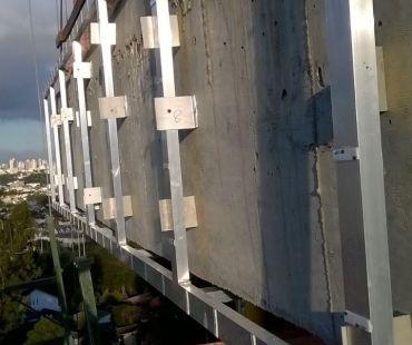 Estruturas de alumínio soldado. -